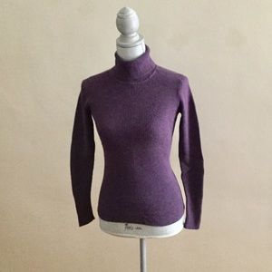 Old Navy Exclusive Dark purple Turtleneck Sweater